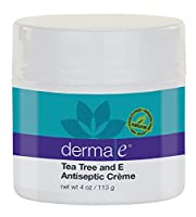 derma e Soothing Skin Treatment, Tea Tree & E Antiseptic Crme, 4 oz (113 g)