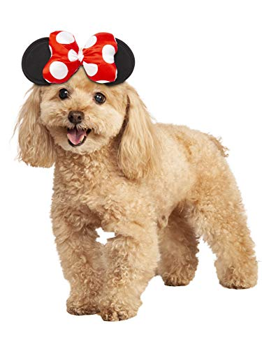 Rubie's Disney: Mickey Mouse & Friends Pet Costume Accessory, Minnie Mouse, M/L ()