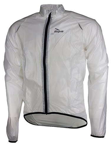 Rogelli Transparente Ciclismo Talla Transparente Impermeable Transparente transparente XXXX Crotone para Hombre Chaqueta Large PPUxrdqS