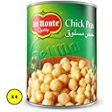 Del Monte Canned Chick Peas , 400 gms- (Pack of 4)