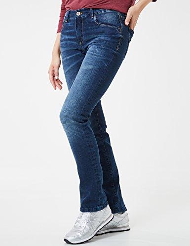 Jeans Donna Blue Sally Blu Stone Straigh Buffies Da Leg dark Pioneer Used 354 With 56TXqw