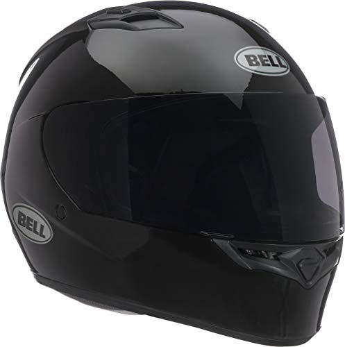 Bell Qualifier Full-Face Motorcycle Helmet (Solid Black, Large) (Best Full Face Helmet For The Money)