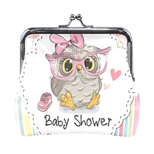 Coin Purse Baby Shower Cartoon Owl Womens Wallet Clutch for sale  Delivered anywhere in Canada
