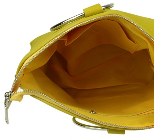 Detail Yellow Bag Bag Shoulder Girly HandBags HandBags Circle Yellow Detail Girly Circle Shoulder Girly anvx7A