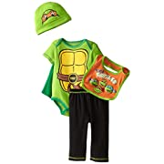 Teenage Mutant Ninja Turtles Baby Boys' 5pc Gift Set, Green, 0-6 Months