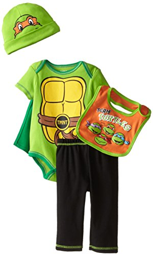 (Teenage Mutant Ninja Turtles Baby Boys' 5pc Gift Set , Green, 0-6)