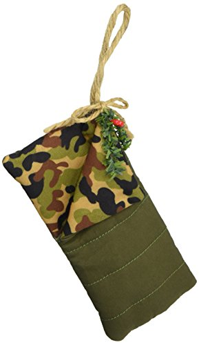 Department 56 Forest Favorites Camo Sleeping Bag Hanging Ornament -
