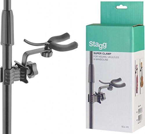 Stagg SCL-VH Adjustable Holder with Clamp for Ukulele, Violin or Mandolin