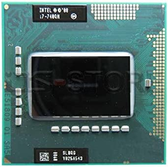Intel Core i7-740QM SLBQG Mobile CPU Processor Socket G1 PGA988 1.73Ghz 6MB 2.5 GT//s