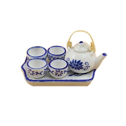 Happy Family 1 Set of Chinese Style Teapot - 1;12 Dollhouse Miniature Furniture
