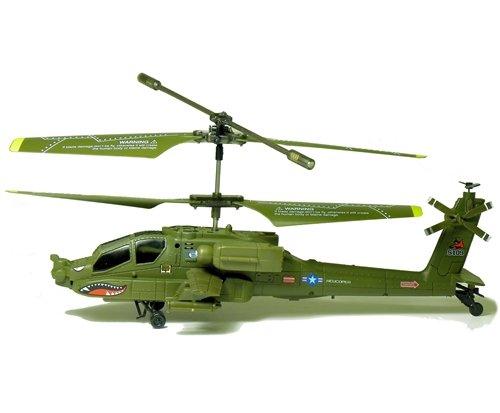 YIBOO UJ408 Mini Apache Gunship Gyroscope 3.5 Channel Infrared RC - Apache Mall