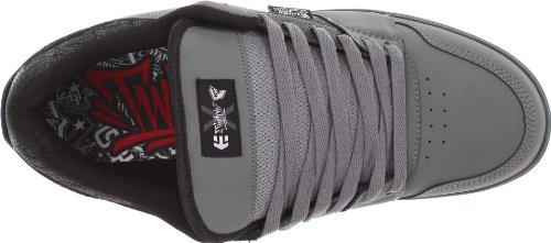 Etnies FSAS X Twitch Rockfield–Zapatillas, color blanco y negro, color gris, talla 25.50 gris/negro