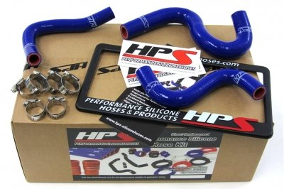 HPS (57-1223-BLUE) Silicone Heater Hose Kit for Toyota Corolla AE86 ()