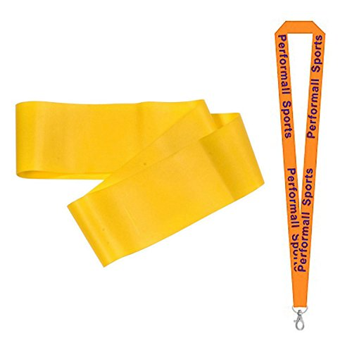 Champion Sports Fitness Loop Yellow  Bundle with 1 Performal