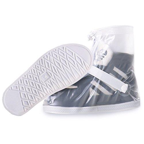 in Shoes Cover Non-Slip Soles for Men & Women (Transparent, XL) ()