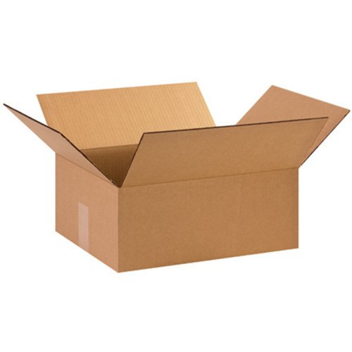 "Aviditi 15126 Corrugated Box, 15"" Length x 12"" Width x 6"" Height, Kraft (Bundle of 25) from Aviditi"