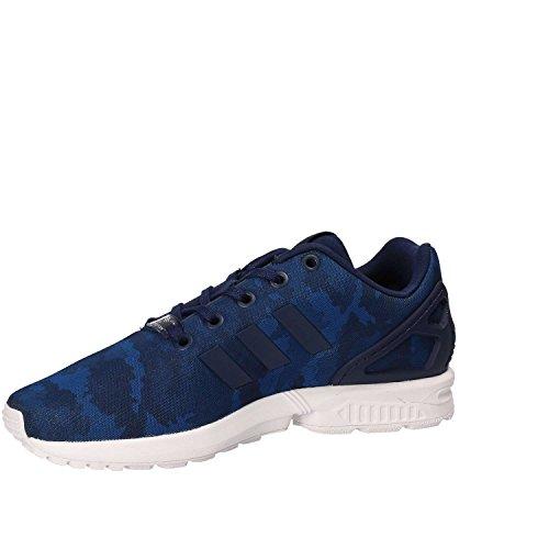 adidas Zapatillas ZX Flux Azul Niño Blanco-Azul-Azul marino