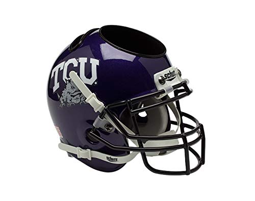 NCAA TCU Horned Frogs Helmet Desk Caddy ()