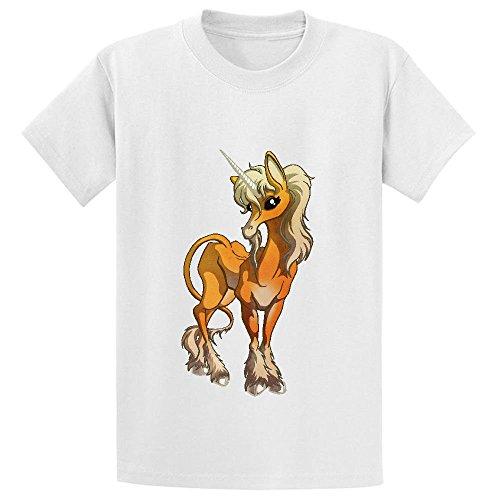 unicorn-cute-cartoon-unisex-crew-neck-print-t-shirt-white