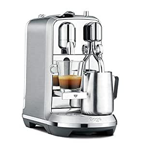 NESPRESSO CREATISTA PLUS J520 SILVER COFFEE MACHINE