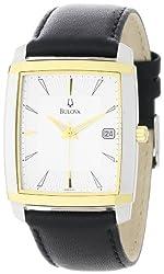 Bulova Men's 98B135 Silver Dial Strap Watch