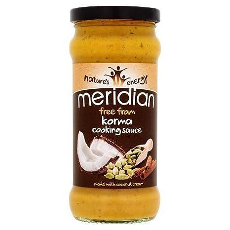 Meridian Natural Free From Korma - Salsa de cocina (350 g ...