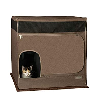 Cat Box Pet Gear Pro Pawty for Cats with LittertraX Mat, Put an end to... [tag]