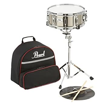 Yamaha student steel snare drum musical for Yamaha student bell kit with backpack and rolling cart