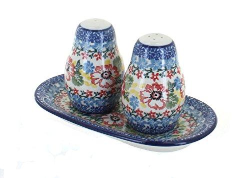 - Polish Pottery Hummingbird Salt & Pepper Shakers