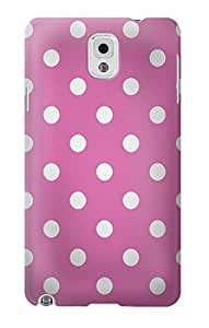 R2358 Pink Polka Dots Case Cover For Samsung Galaxy Note 3