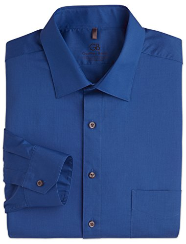 33 Wrinkle Free Dress Shirt - Geoffrey Beene Big and Tall Wrinkle-Free Comfort Stretch Dress Shirts