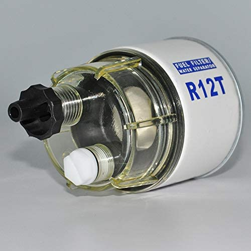 Moligh doll R12T Fuel Filter//Water Separator 120AT NPT ZG1//4-19 Automotive Replacement Filter and Nylon Collection Bowl Replacement Element