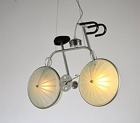 Home Mall- Lámpara Colgante de Bicicleta|Lámpara de Araña|Cuerpo ...