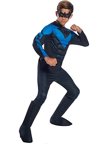 Rubie's DC Comics Deluxe Nightwing Childrens Costume, Large