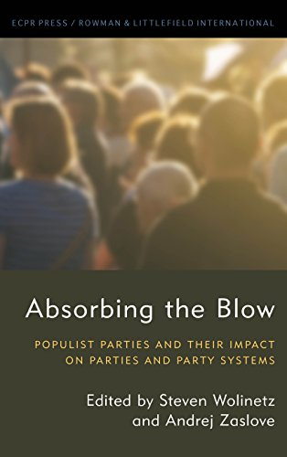 Absorbing the Blow: Populist Parties and their Impact on Parties and Party Systems (Studies in European Political - European System Party