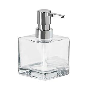 Amazon Com Oggi 8oz Square Glass Lotion Amp Soap Dispenser