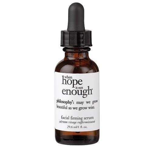 philosophy when hope is not enough, a.m. firming serum 1 fl oz (29.6 ml)