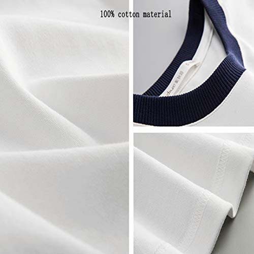 Casa Pantalone Da Loveni Righe Abbigliamento Casual In Donna Arredamento s Lungo Bavero Bianche Cotone A Completo Per La Pigiama RwS7OSqg