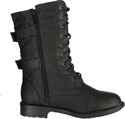 Top Moda Pack-72 boots - stylishcombatboots.com