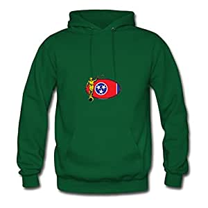 Ericsmith Tennessee Lds Mission Angel Moroni State Flag Green New Style X-large Hoody Creative Women
