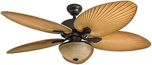 Harbor Breeze Chalmonte Ventilador de techo de bronce aceitado ...