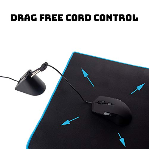 Gaming Mouse Bungee - Premium Mouse Cord Holder for Esports