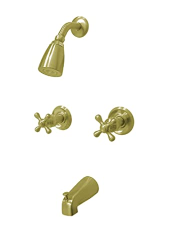 Kingston Brass Kb242ax Magellan Twin Handle Tub And Shower Faucet