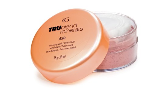 (CoverGirl Trublend Minerals Blush, Shimmering Sands 430, 0.63-Ounce Packages (Pack of 2))