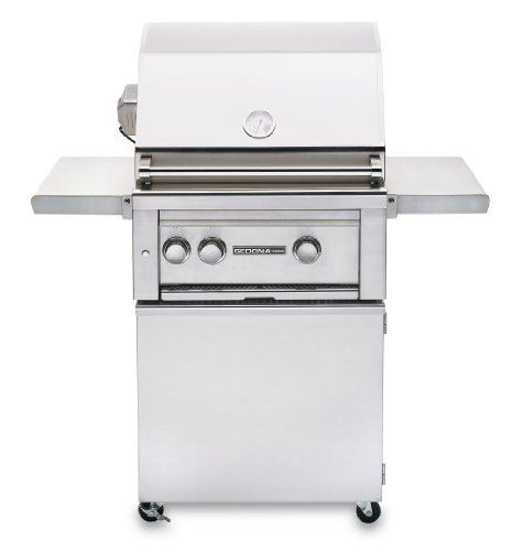 Sedona by Lynx Dual Zone Infrared Propane Gas Grill with Rotisserie, 24-Inch (Lynx Briquette Tray compare prices)