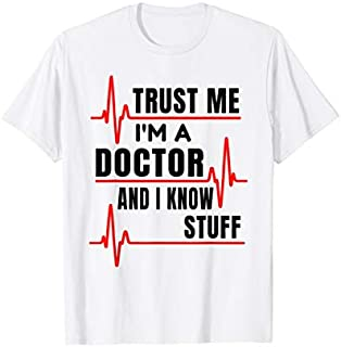 Cool Gift Doctor  Trust Me I'M A Doctor  Women Long Sleeve Funny Shirt