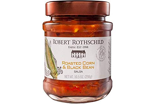 Robert Rothschild Farm Roasted Corn & Black Bean Salsa 1 Jar- 10.5 oz. net wt. (Robert Onion Rothschild Farm)