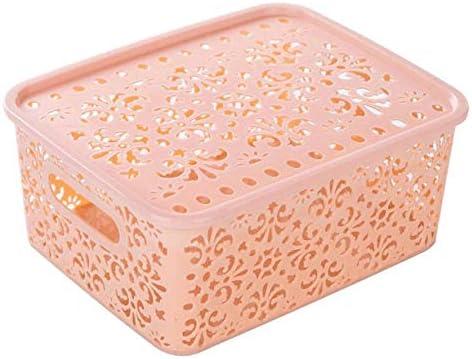 Canasta de Almacenamiento de plástico Caja Contenedor de ...