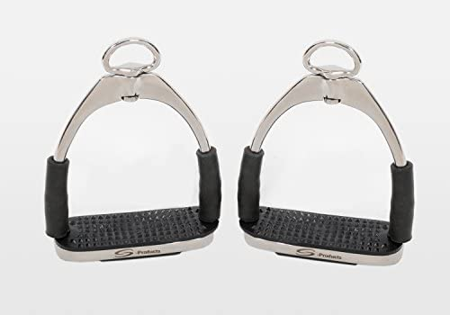 S-Products ULTIMATE FLEXI SAFETY BENDY STAINLESS STEEL COMFORT ENGLISH STIRRUPS