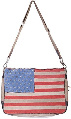 Scully Studded One Crossbody Patriotic Patriotic B124 Bag Hb Women's rraqxg5F